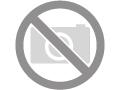 Harde VEGAN borstel met ergonomische grip met holle spiegel. Vervaardigd in perenhout en Sisal.
